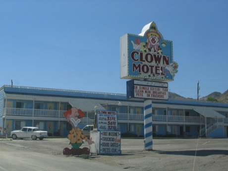Clown Motel, Tonopah, Nevada