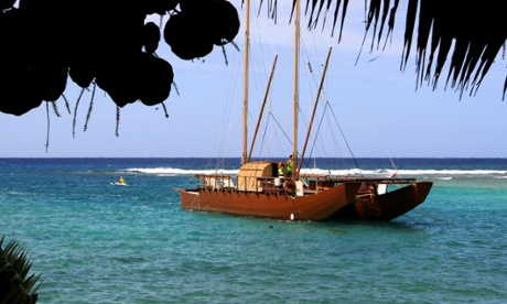 Sailing Cook Islands