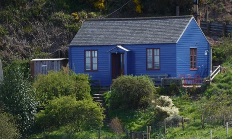 The Blue Cabin exterior