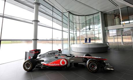 McLaren Group's factory in Working