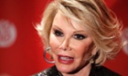 Joan Rivers: skewered America's excesses with her signature scathing wit.