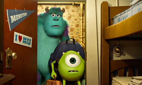 Sulley and Mike from Monsters University