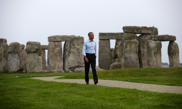 obama Stonehenge