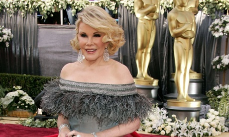 Joan Rivers at the Oscars