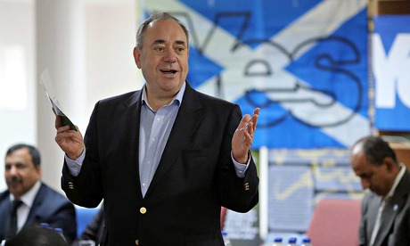 Alex Salmond in Inverness