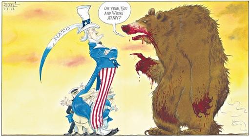 Chris Riddell Observer comment cartoon for 7/9/2014