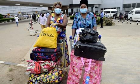 Lagos airport, Nigeria
