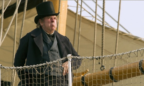 Timothy Spall in Mr. Turner, directed by Mike Leigh.