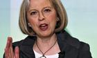 Theresa May at a Conservative forum