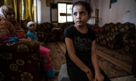 Najia Warshaga: injured Palestinian girl who became symbol of Gaza war
