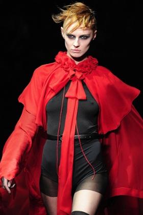John Galliano show, A/W 2012, Paris Fashion Week