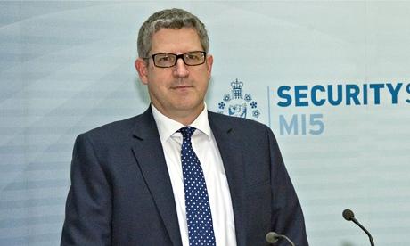 Andrew Parker, MI5 director general