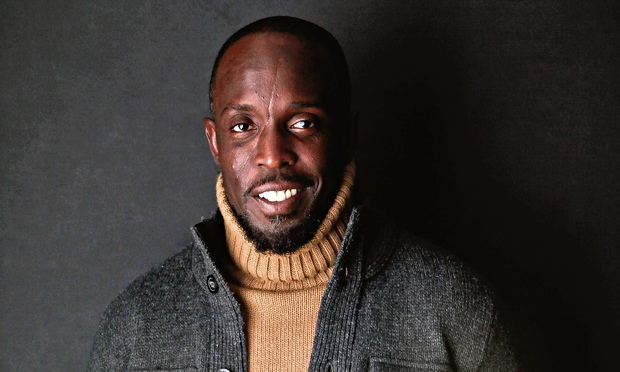 Michael K. Williams Michael K Williams on drugs