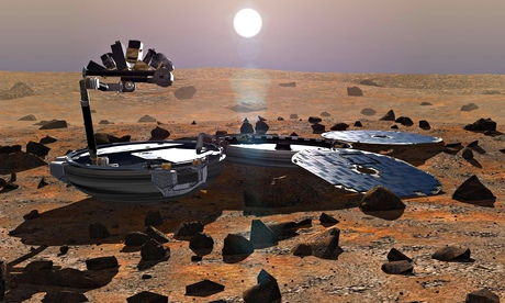 So they might have found Beagle 2 on Mars … Er, remind me, what was it?