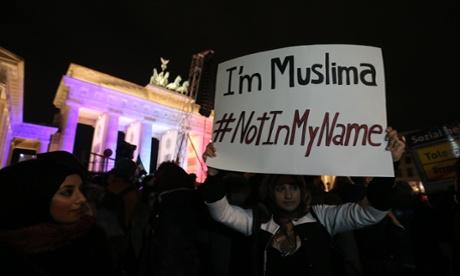Muslim community rally