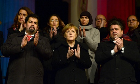 Muslim community rally, Berlin