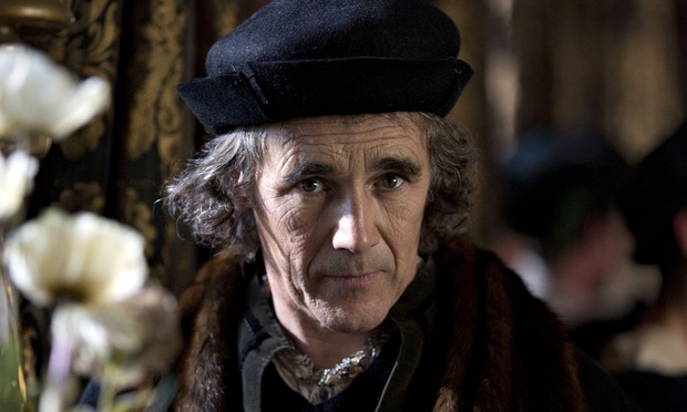 Mark Rylance as Thomas Cromwell, 'the Tudor embodiment of not giving a toss'. Photograph: Giles Keyte - Mark-Rylance-as--Thomas-C-012