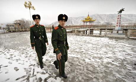 China deploys militias to guard North Korea border