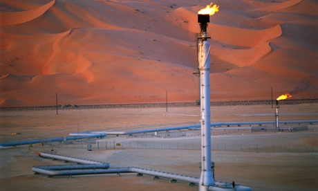 Shaybah field, Saudi Arabia. The Saudis could maintain high prices only by reducing their own output to make room in the global market for ever-increasing US production.