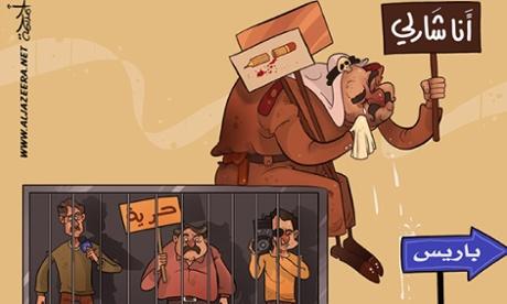 Arab cartoonists pen their response to Charlie Hebdo affair