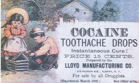 Cocaine toothache