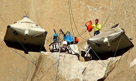 After El Capitan thriller, inspired Britons flock to climbing walls to emulate heroes