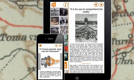 70 years after the Holocaust, new app brings its voices to modern devices