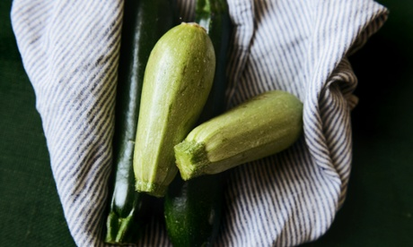 It's zucchini season.
