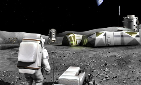Esa favours moon not Mars for next crewed mission