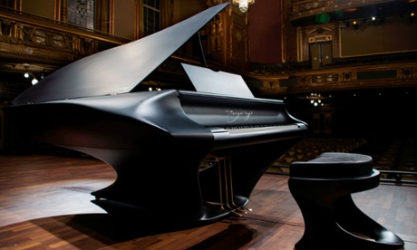 A new 'human' piano is unveiled in Budapest