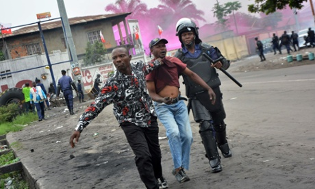 Protests in Congo over president's future