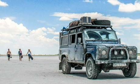 Instagram snapshots: a trans-Africa road trip