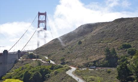 North Tower of Golden Gate Bridge, San Francisco