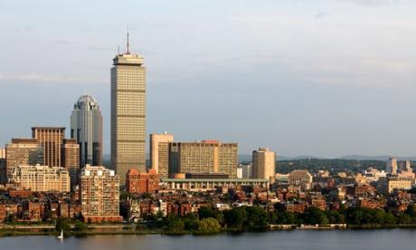 Boston riverfront, Massachusetts