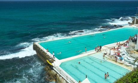 Bondi Icebergs, a swimming club by the beach in Sydney