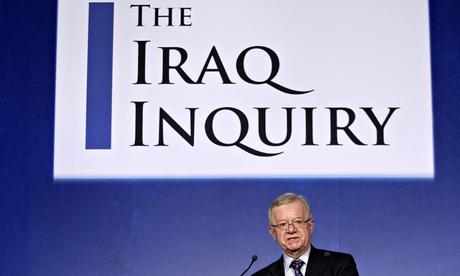 Sir John Chilcot author of the long awaited iraq war report