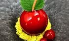 Shaun Hergatt's Cherry Ripe dessert.