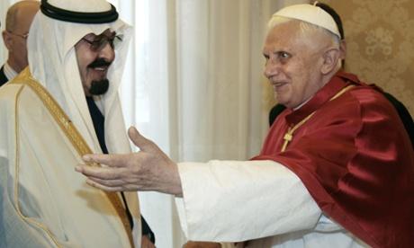 Pope King Abdullah King Abdullah With Pope