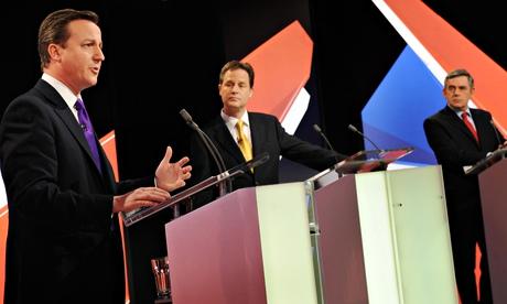 UK voters: 'Cameron running scared of TV debates'