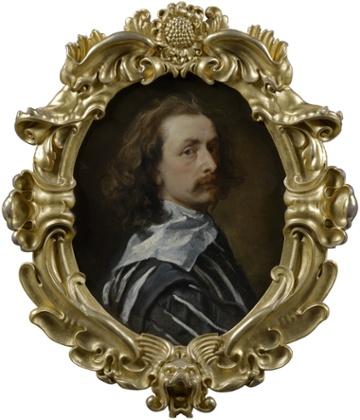 Self-portrait by Sir Anthony van Dyck (1640).
