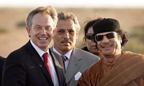 Revealed: how Blair colluded with Gaddafi regime in secret