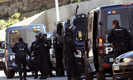 Ceuta: police arrest suspected jihadists in Spain's north African enclave