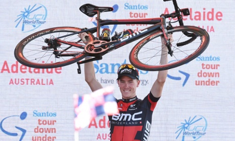 Rohan Dennis holds off Richie Porte to win Tour Down Under