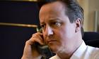 David Cameron phone