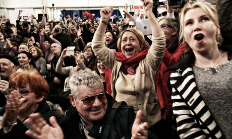 Syriza\'s historic win puts Greece on collision course with Europe...