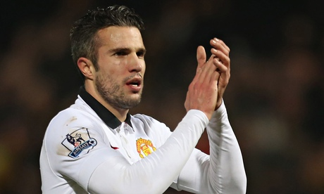 Robin van Persie admits uncertainty over future at Manchester United