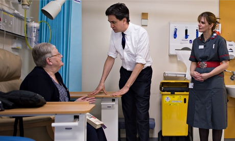 The future of the NHS at stake in 2015 election, says Ed Miliband