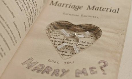 A novel proposal: ring hidden in Marriage Material helps to engage reader