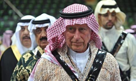 Prince Charles in Riyadh in 2014
