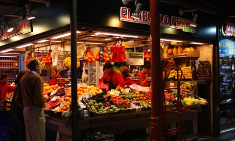 Top 10 food markets in Madrid